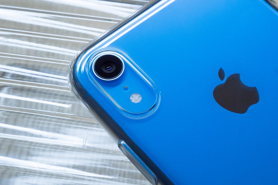 iPhone XRの「純正クリアケース」を1分で紹介するよ
