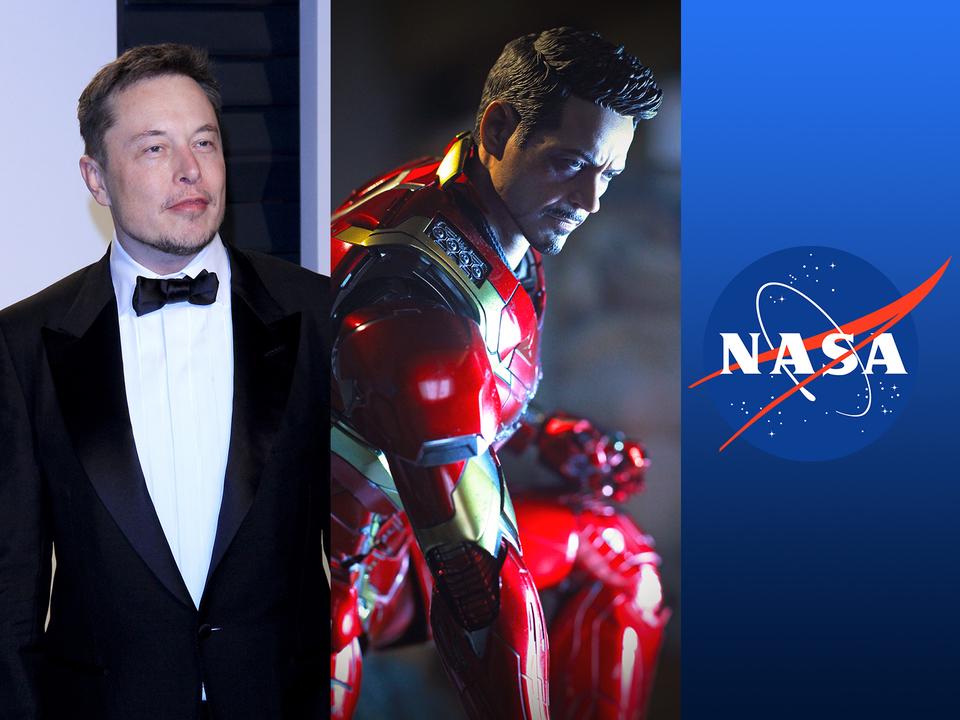 トニー・スタークを助けて! というツイートにNASAとイーロン兄貴が反応