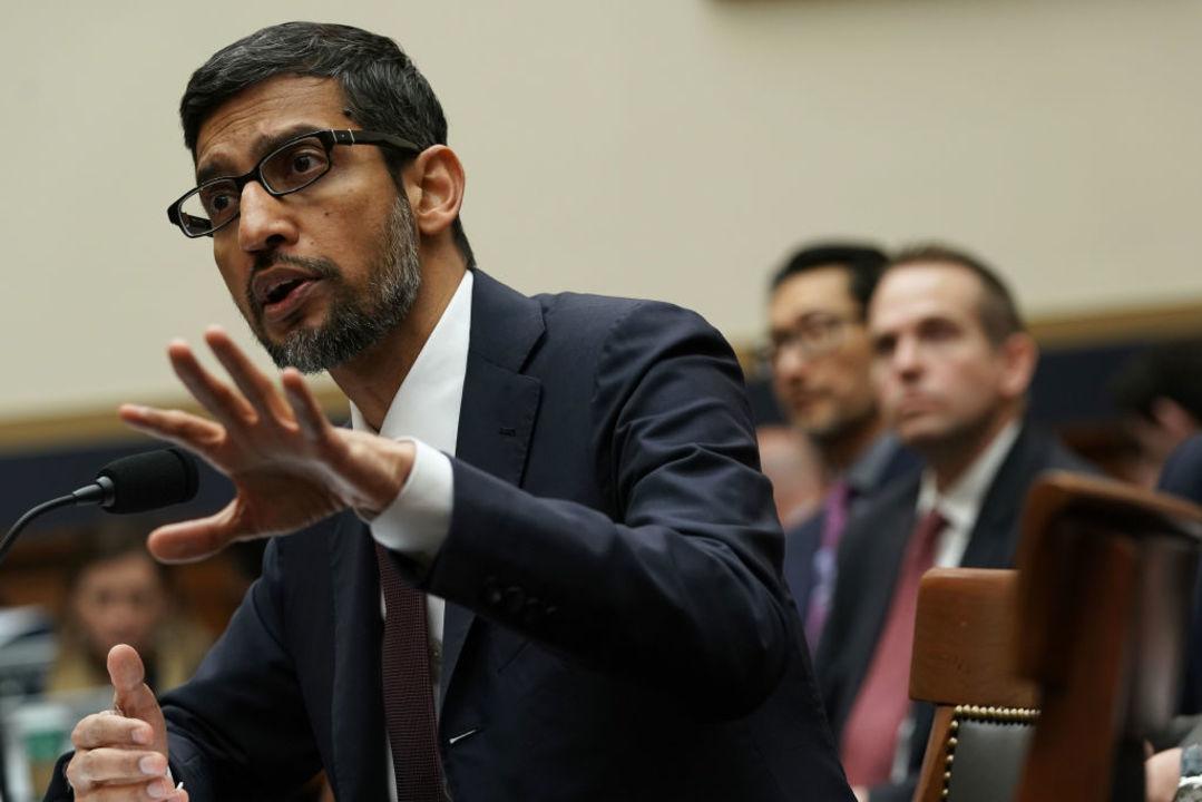 GoogleのピチャイCEOが米議会で発言「中国参入の予定は、今は、ない」