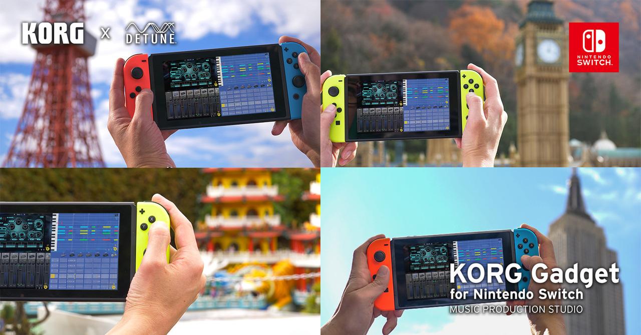 音楽ソフトでマルチプレイとな…? 『KORG Gadget for Nintendo Switch』が、アップデートでオンラインマルチに対応