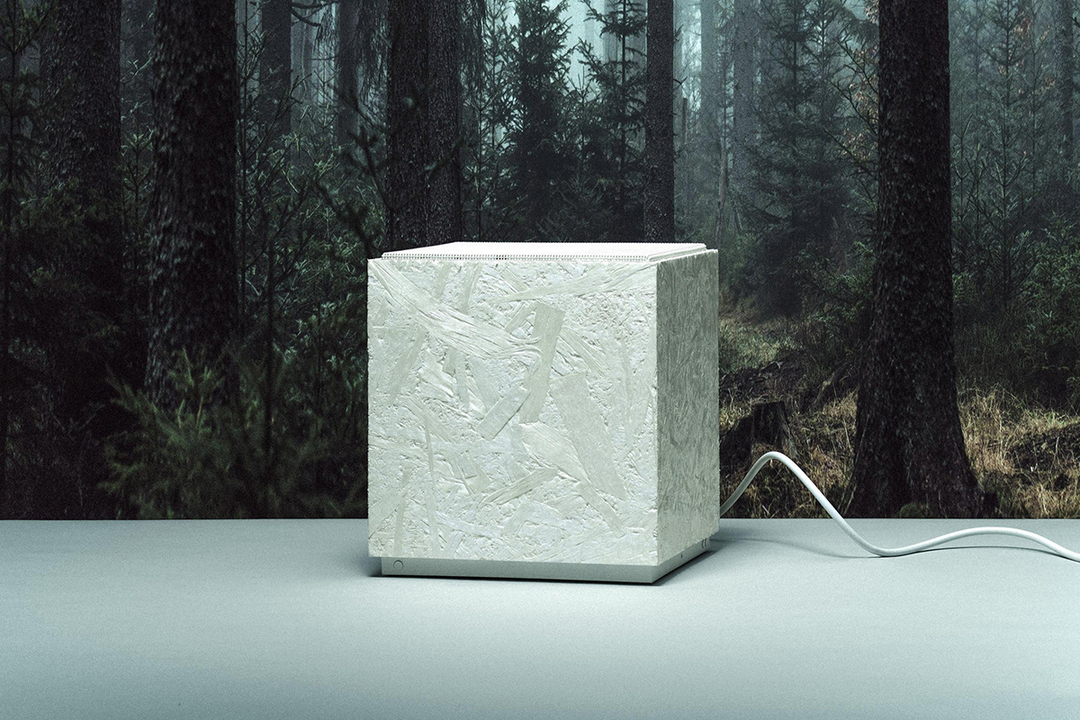 サスティナブルで色褪せない白をもつ新素材を、Teenage Engineeringが開発