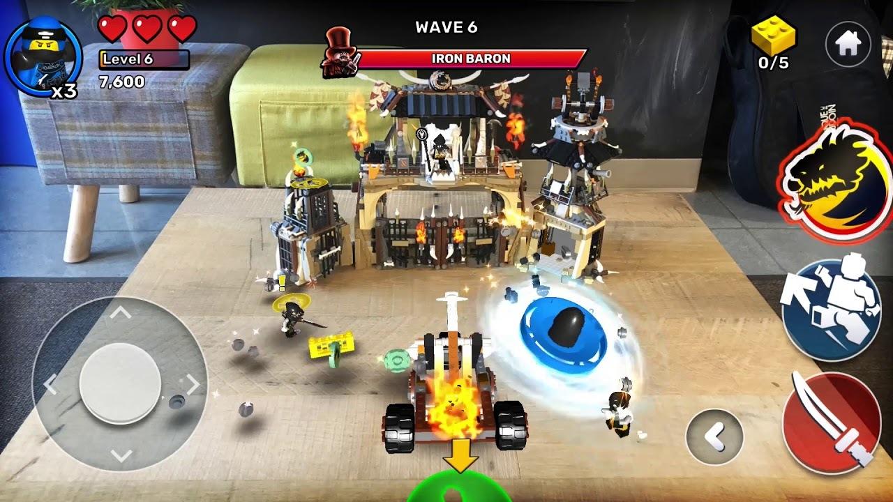ミニフィグ忍者が大暴れ! レゴがARで遊べるゲーム「LEGO Playgrounds」