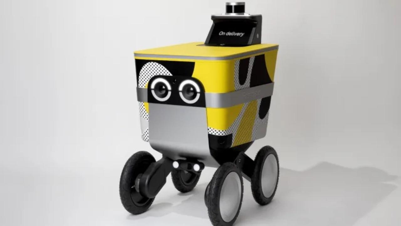 サンフランシスコに『ミニオンズ』みたいなデザインのデリバリー・ロボットが転がり込むよ