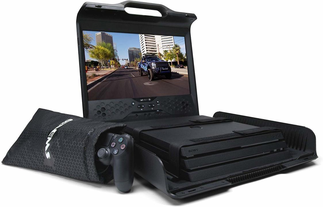 PS4とXbox Oneを携帯ゲーム機にチェンジする「モニター付きケース」