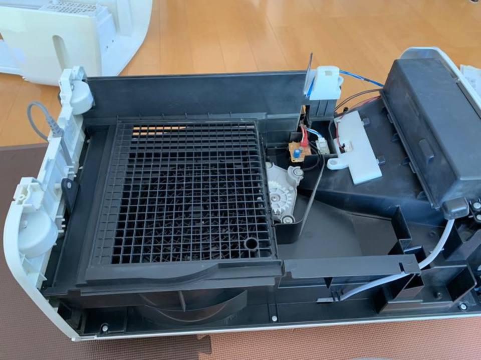 年末家電大掃除!5年使い続けた加湿空気清浄機を分解してフルリメイクしてみました