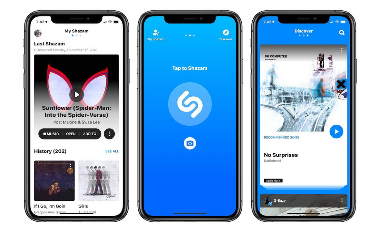 Shazamアプリが完全アドフリーに。Appleによる買収完了に引き続き