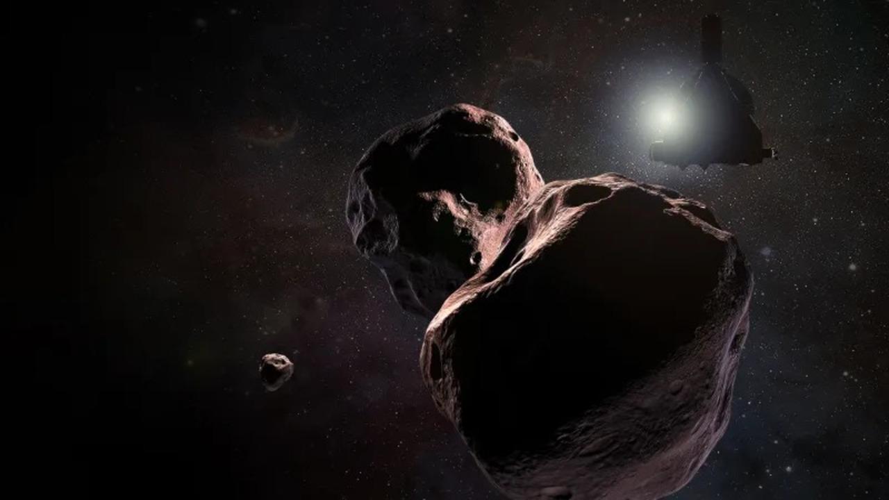 新年明けまして、冥王星のその先「Ultima Thule」を通り過ぎます、探査機New Horizon