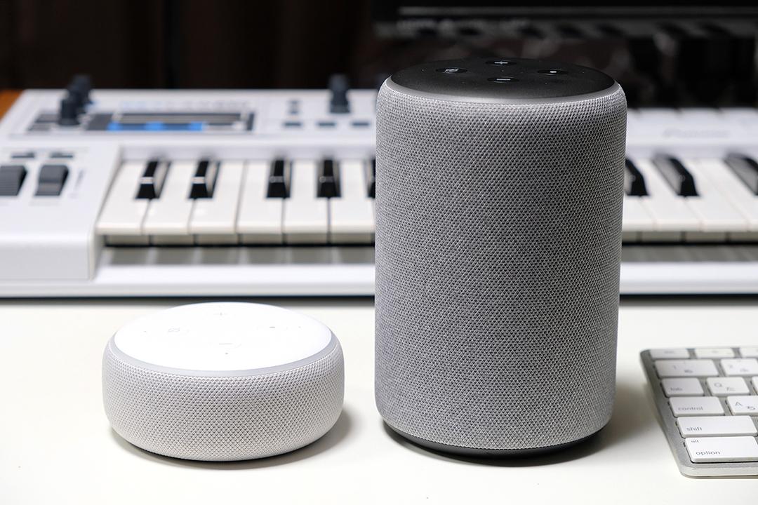 新Echo Dot+Echo Plusレビュー:スピーカーらしさmoreアップ!