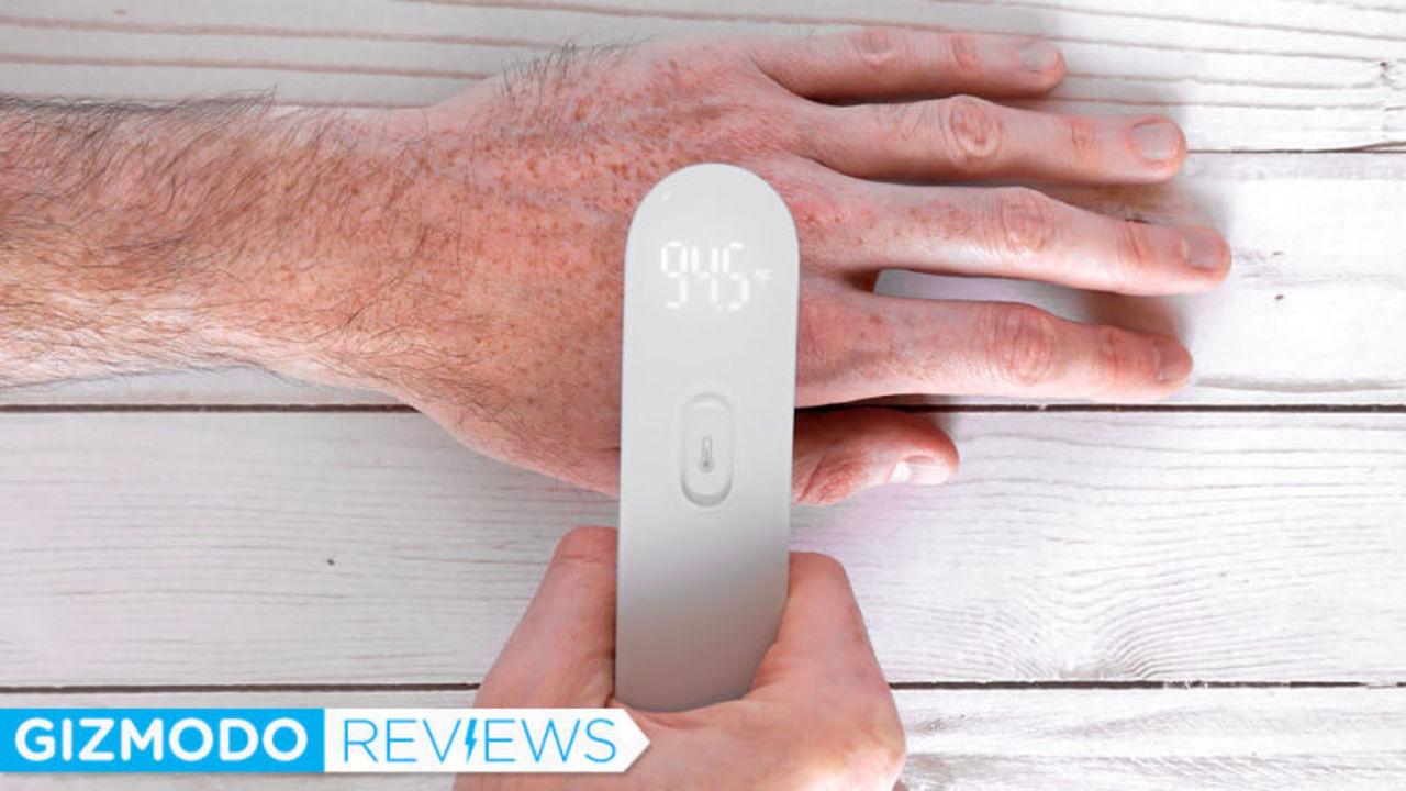 デジタル体温計「iHealth Thermometer」レビュー:惜しい! 安くて便利な非接触型体温計に足りない○○とは?