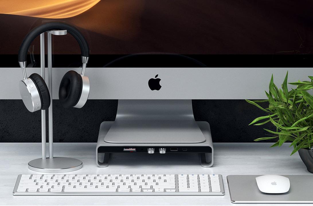 iMacのかゆいところに手が届きまくるUSB-Cスタンドハブ