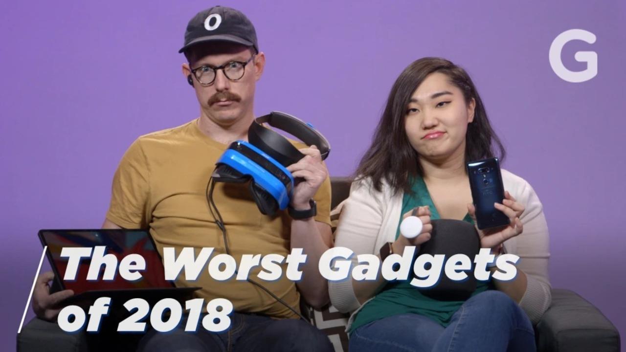 米Gizmodoが選ぶ、2018年の残念ガジェット