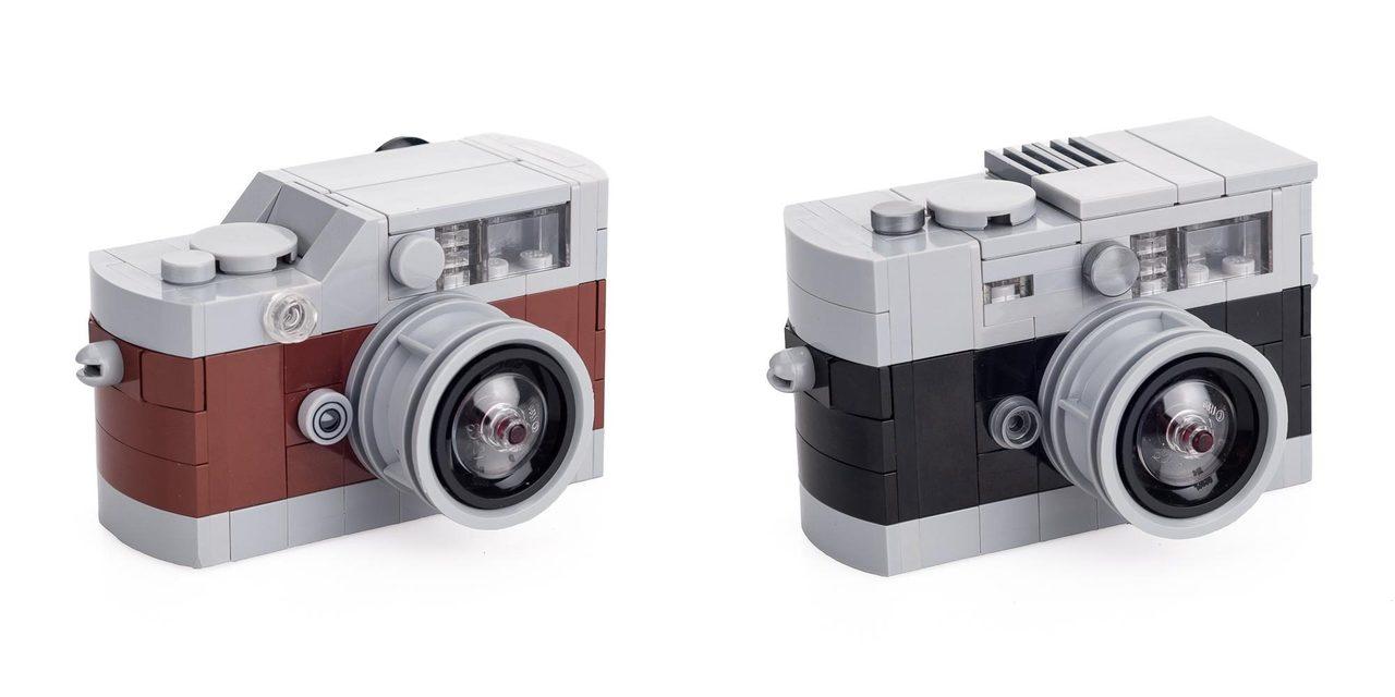 ライカ公式、レゴで組み立てる「Leica M」