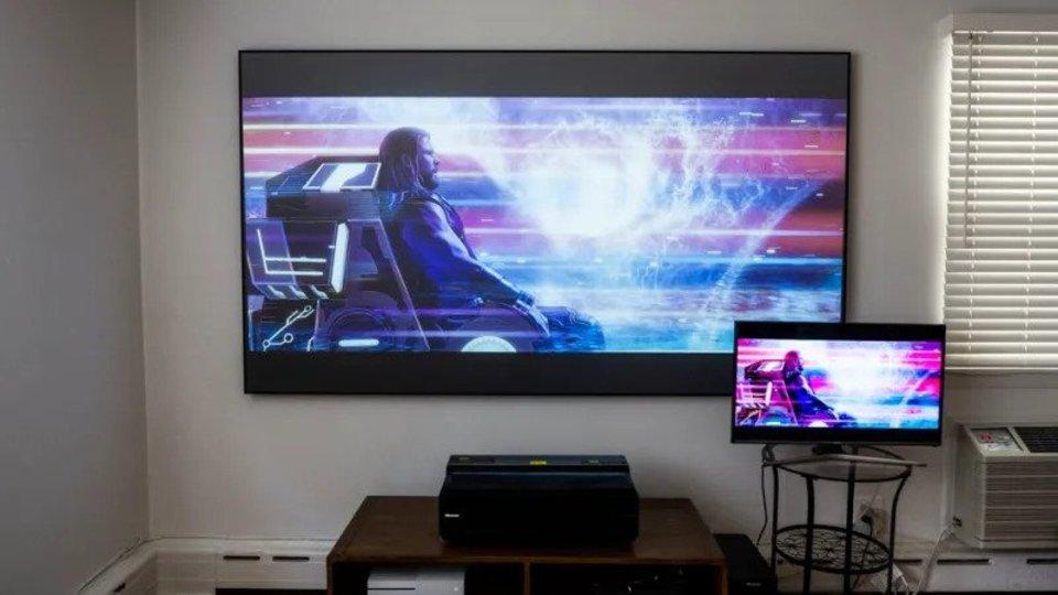 Hisense100-inchUltraHDLaserTV