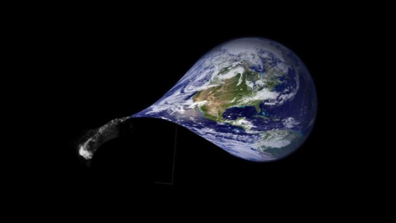 地球は毎年5万トンずつ軽くなっています