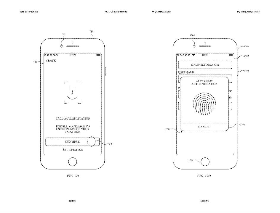 Touch IDに未来あり? Face IDとのダブル生体認証の特許公開