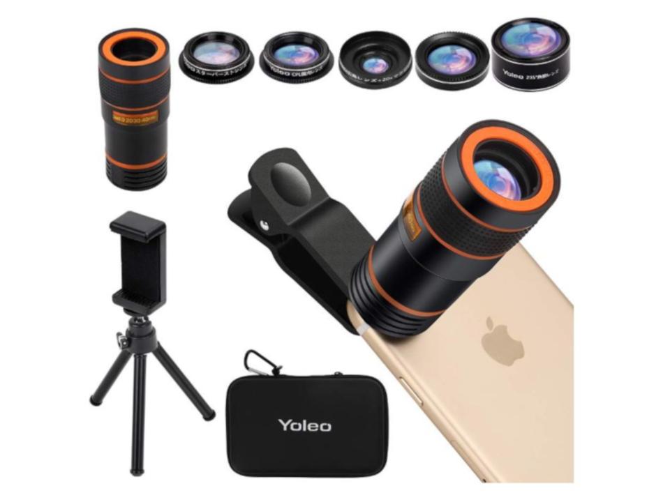 【きょうのセール情報】Amazonタイムセールで90%以上オフも! 20倍望遠レンズも付属のスマホ用レンズ6点セットや6USBポート・AC6口対応の電源タップがお買い得に