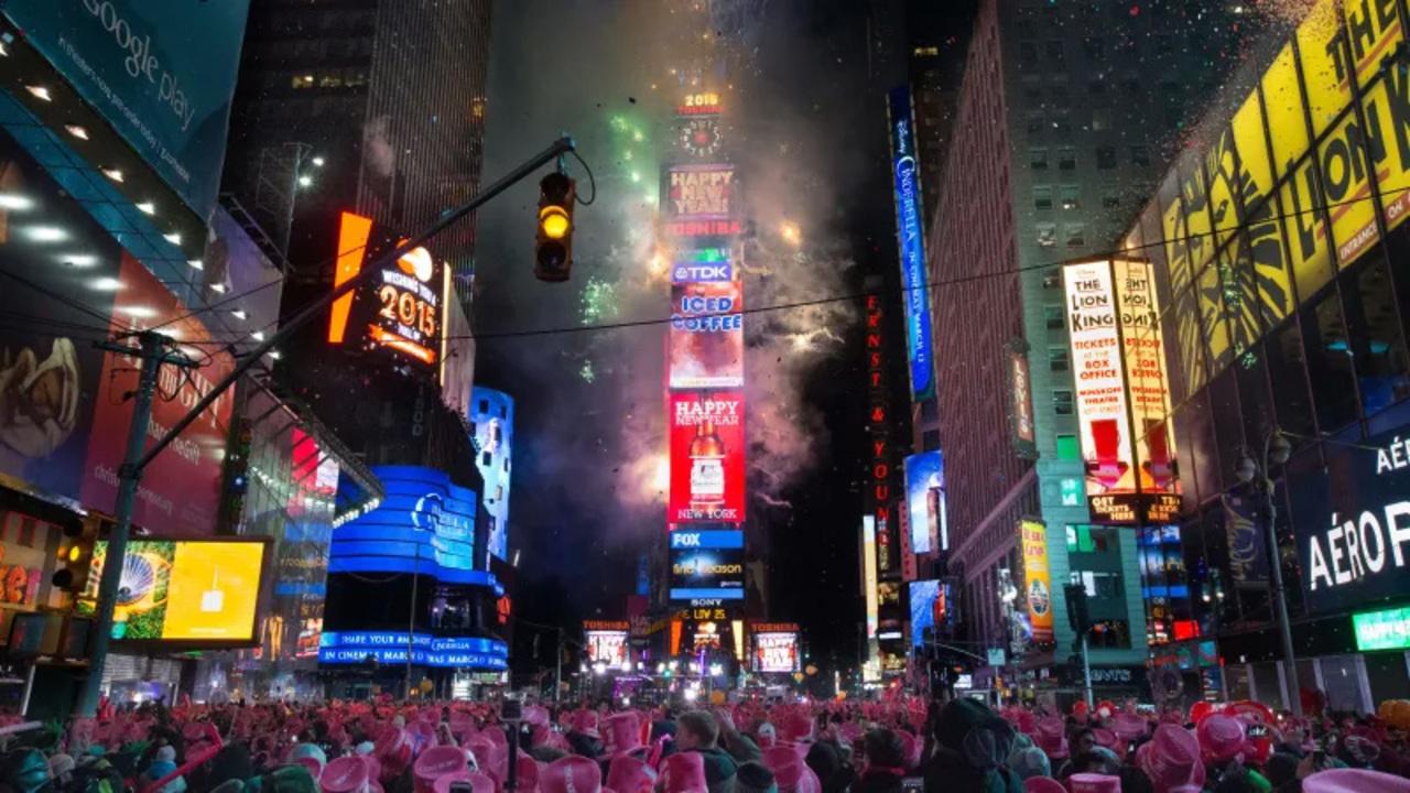 ニューヨークの世界最大級のカウントダウンイベントの警備にドローン投入