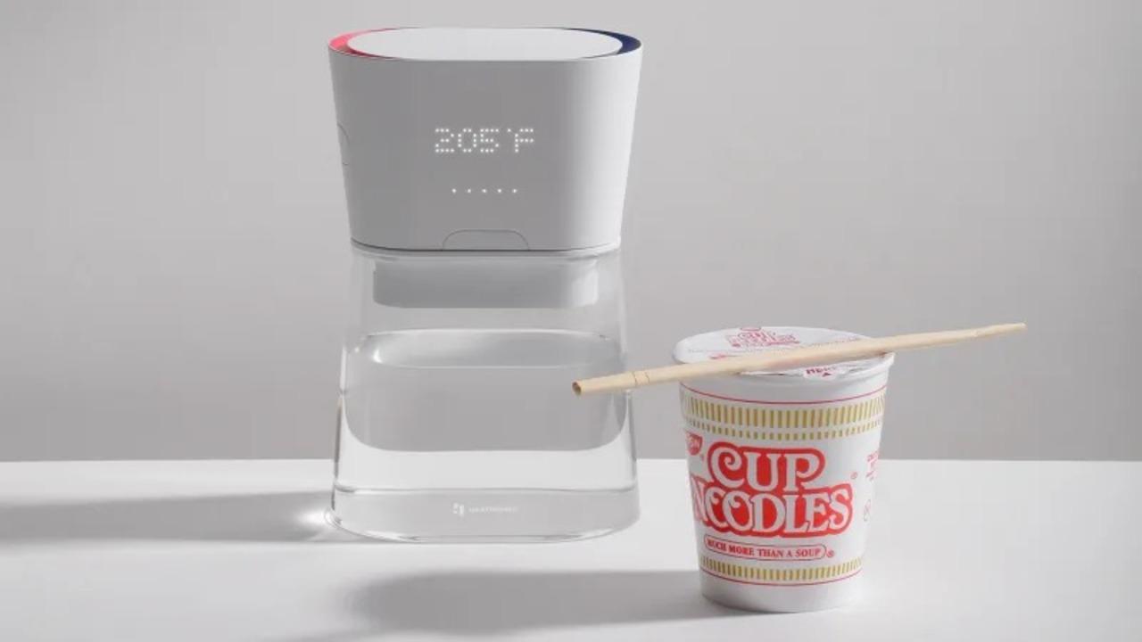 注ぐ瞬間にお湯が沸く。新技術採用のケトル「デュオ・カラフェ」 #CES2019