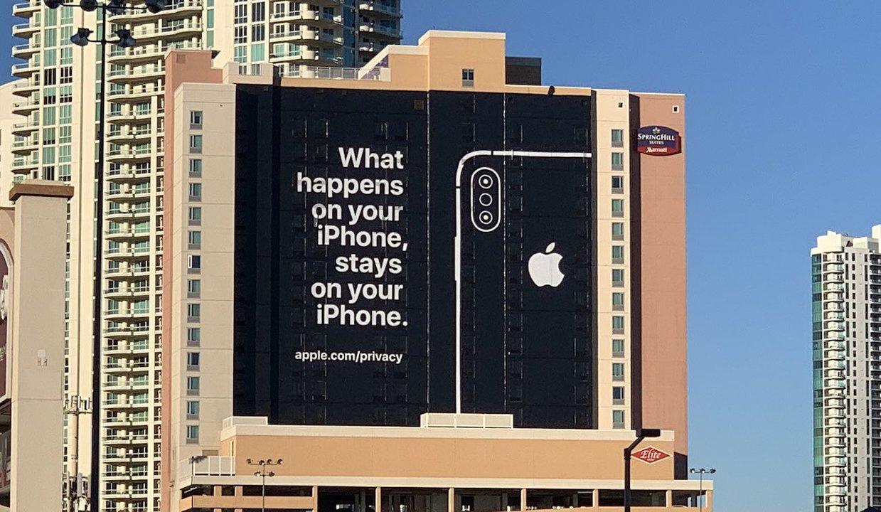 Apple、意識お高めの広告でプライバシーをアピール #CES2019