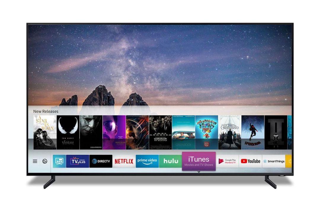 iTunesアプリ搭載のスマートTV、Samsungからやってくる!#CES2019
