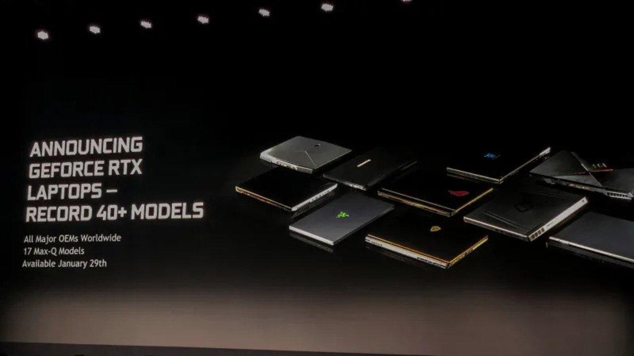 Nvidiaの最強レイトレーシングGPU「GeForce RTX 2080」がついにラップトップに #CES2019