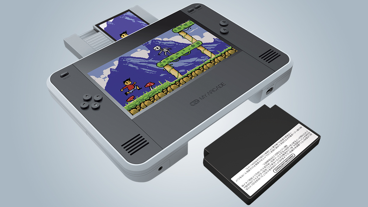 ニンテンドースイッチ風なファミコン&NES互換機なら、ノスタルジックを持ち歩ける