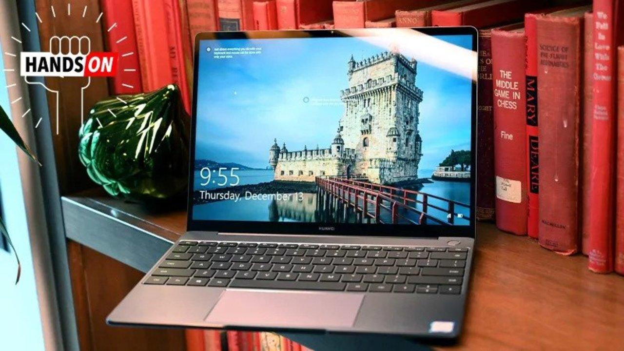MateBook 13ハンズオン:MacBook Airの強力なライバル #CES2019
