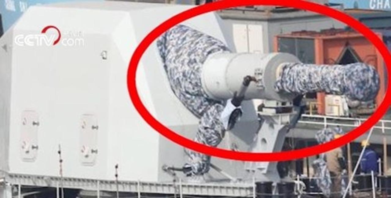 中国が軍艦にレールガンを配備。でも運用はまだ先?