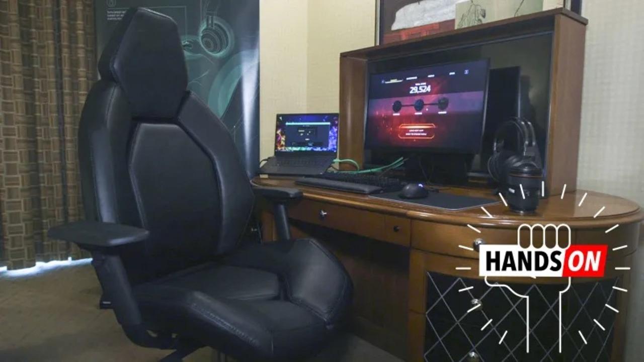 お尻がプルプル。振動しまくるRazerのゲームガジェットをハンズオン #CES2019