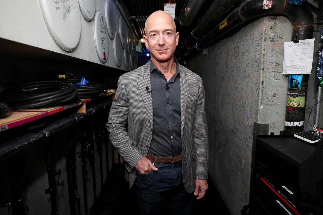Amazonのジェフ・ベゾスCEO、離婚する