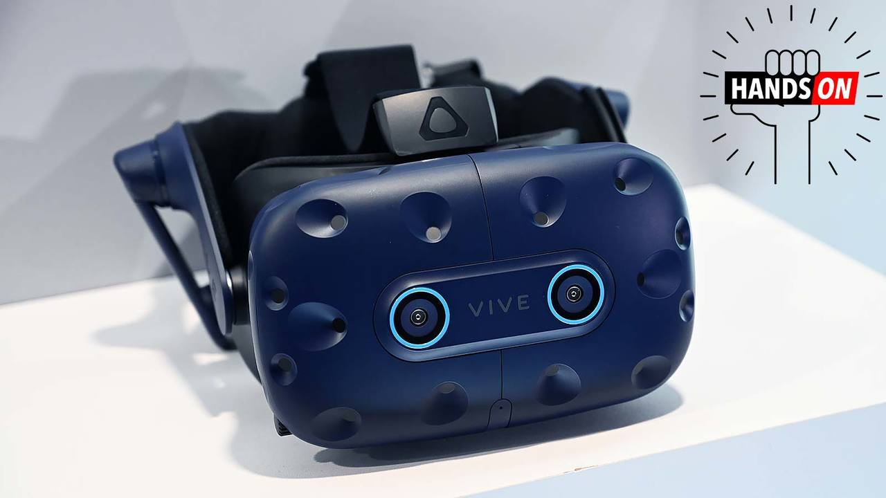HTCの新ヘッドセット「Vive Pro Eye」ハンズオン:VRの次なる第一歩 #CES2019