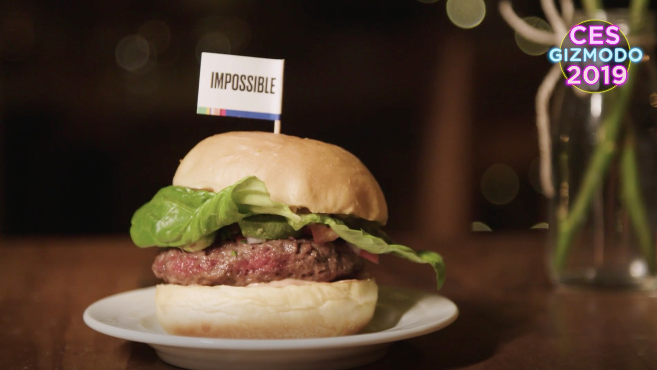 人工肉バーガーはうまい。うますぎた #CES2019