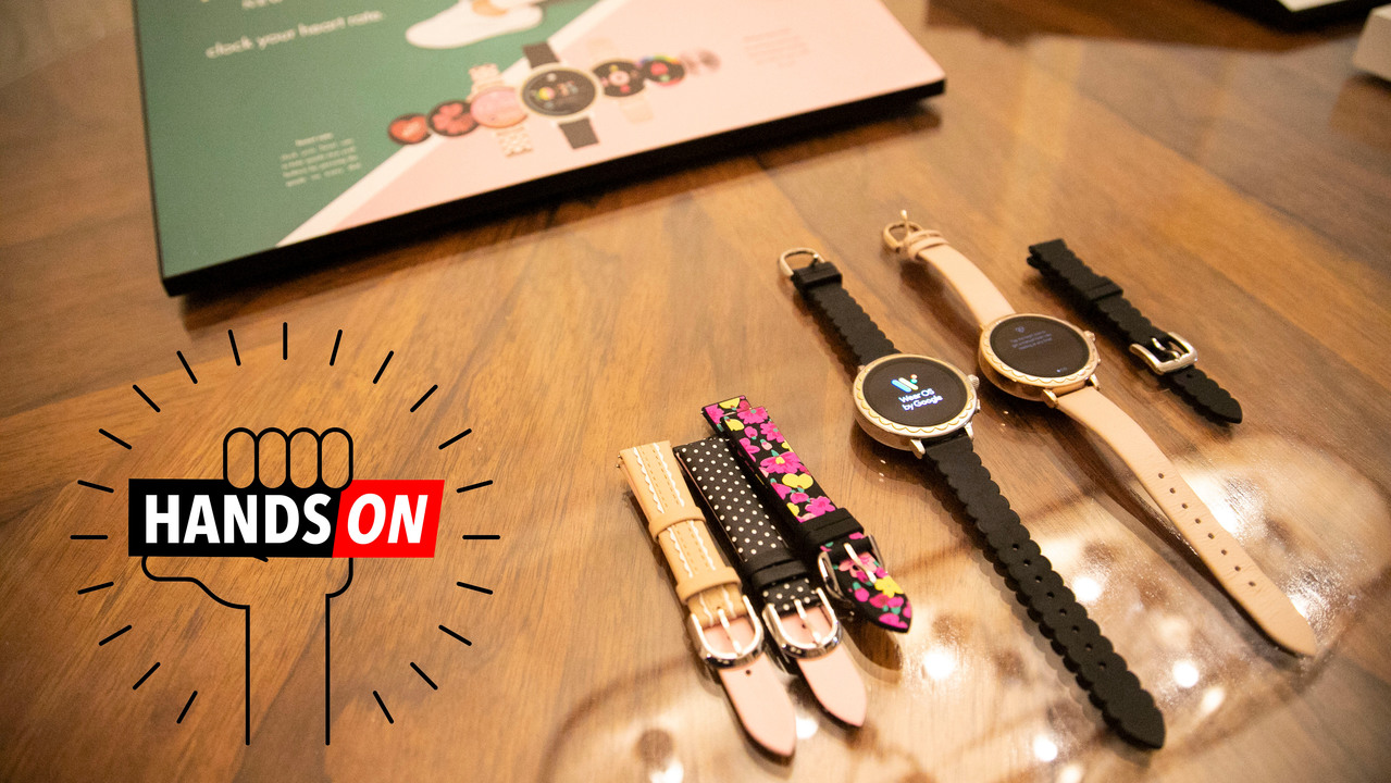 Kate Spade Scallop Smartwatch 2 ハンズオン:お飾りではない #CES2019