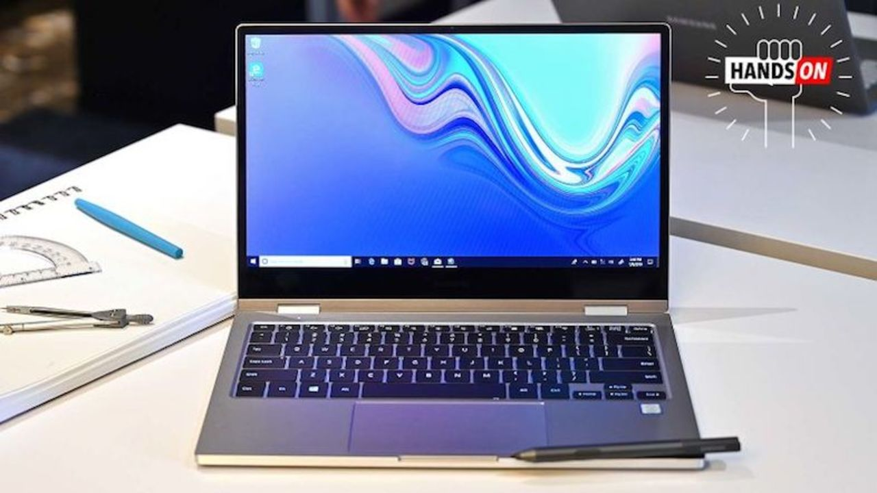 SamsungのNotebook 9 Pro&Notebook Flashハンズオン:こだわったのは外観デザイン #CES2019