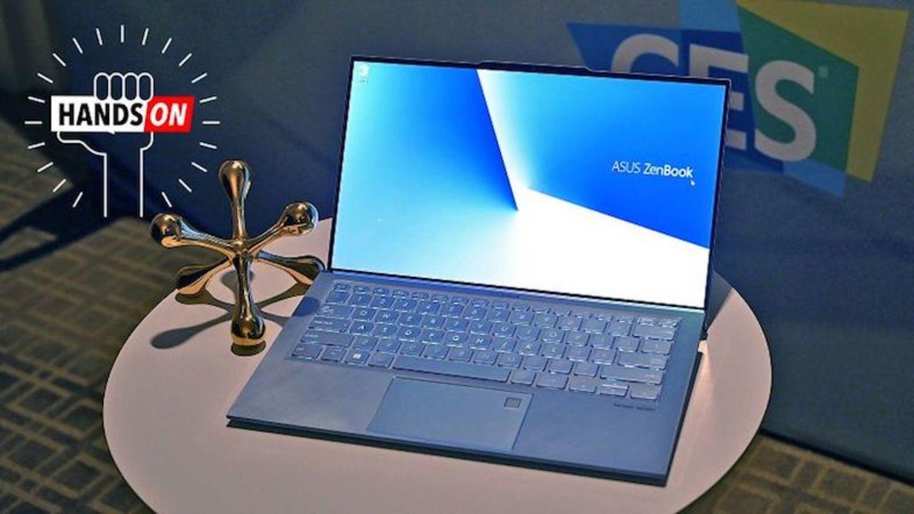 ノッチがあるラップトップ。Asus「ZenBook S13」ハンズオン #CES2019