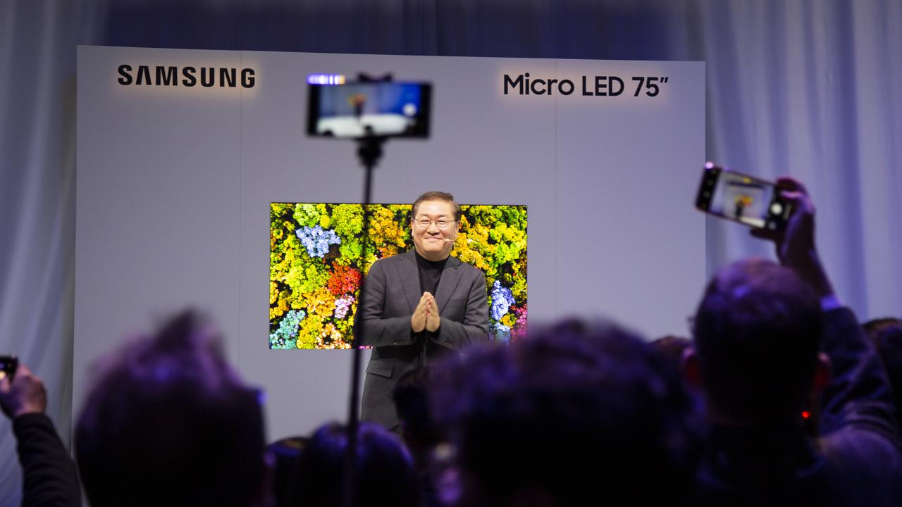 SamsungのMicroLED技術はなんかガッカリ。スゴいんだけどね… #CES2019