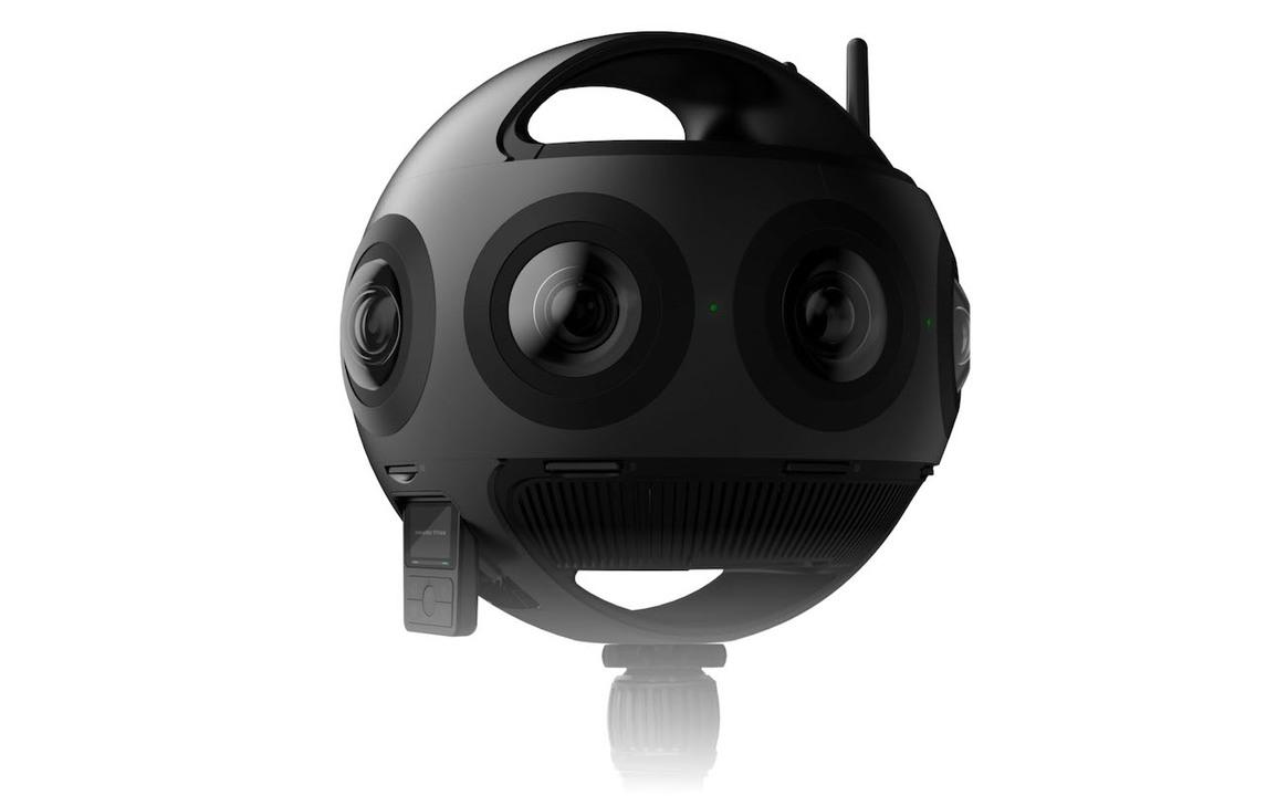 このボール、なんと11K解像度のVR映像が撮影できます