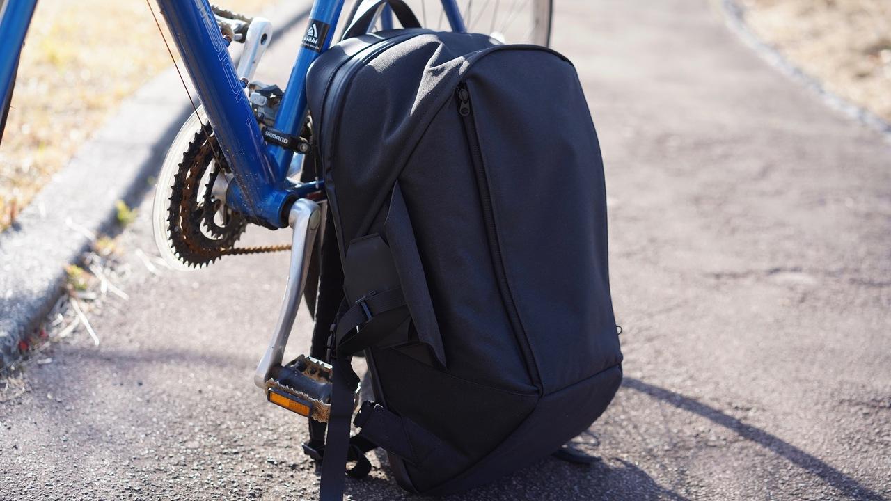 スーツも持ち運べる。5つのモジュールを組み合わせる次世代バックパック 「 ITR One Backpack」を使ってみた