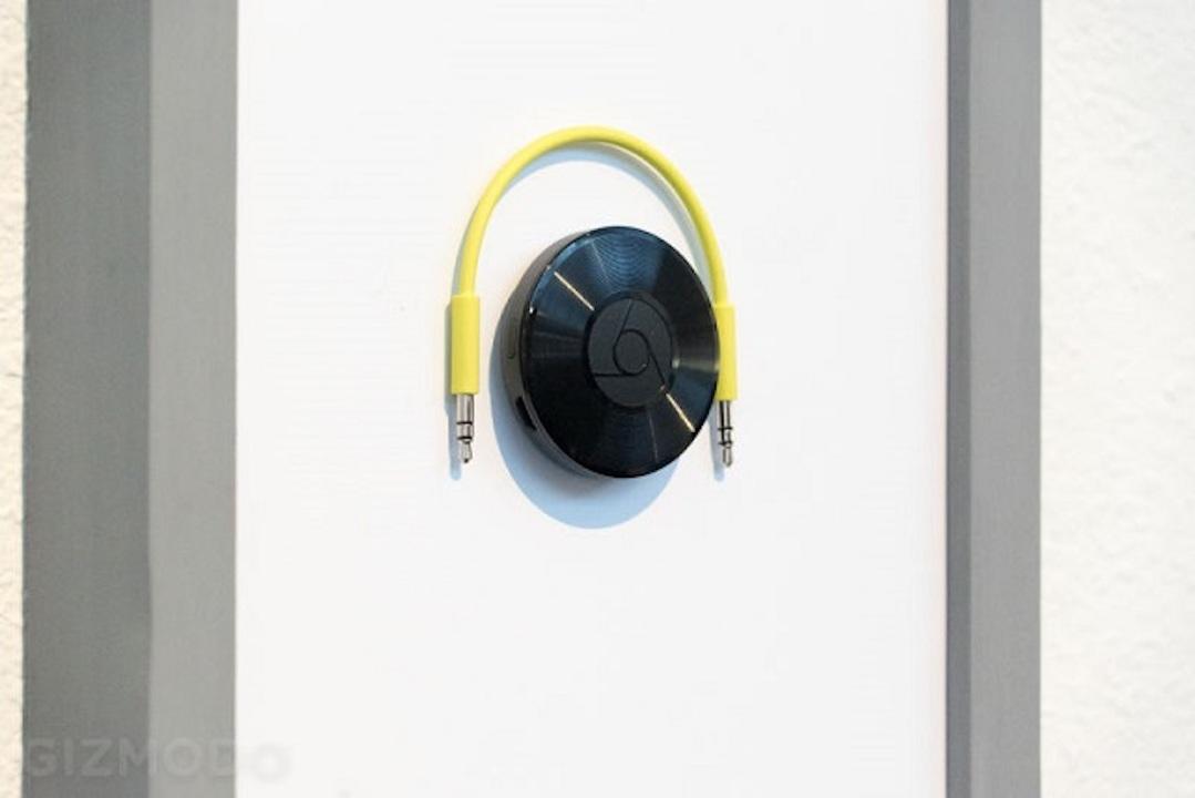 Chromecast Audioさん、生産中止に