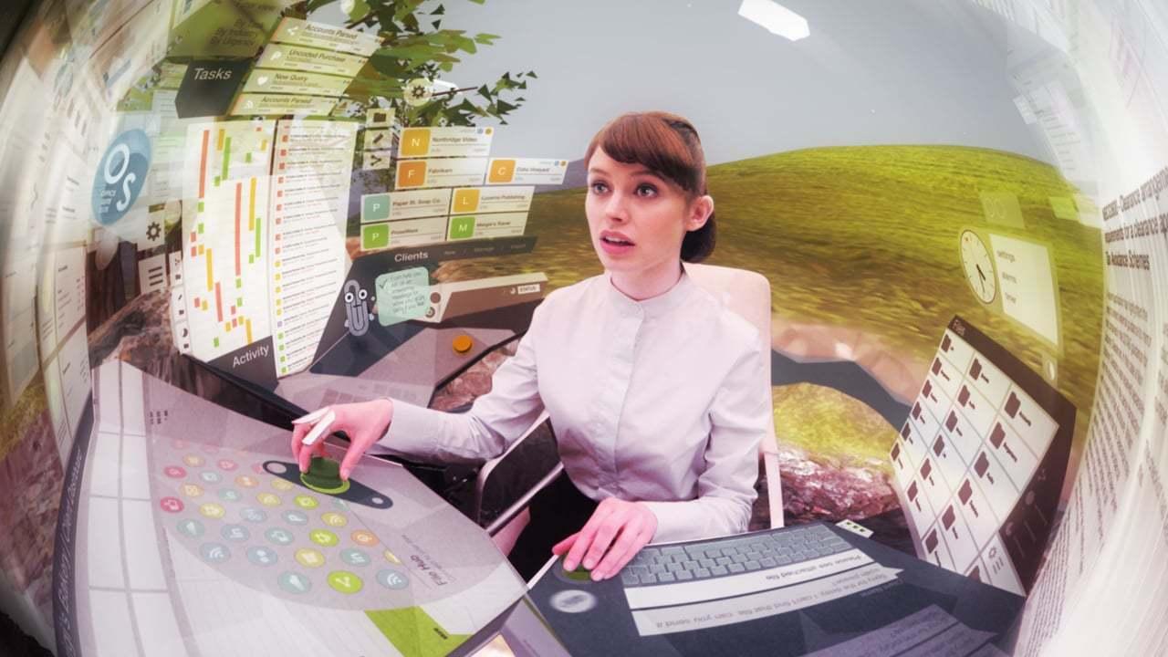 加速するテクノロジー社会に絶望した彼女は…。360度短編SF動画『Merger』