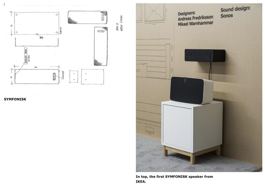 IKEA x Sonosのスマートスピーカー「SYMFONISK」が8月に発売へ