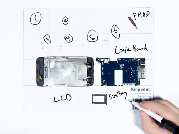 もう無くしたりしない。分解大好きっこなら持つべき磁石付き作業マット
