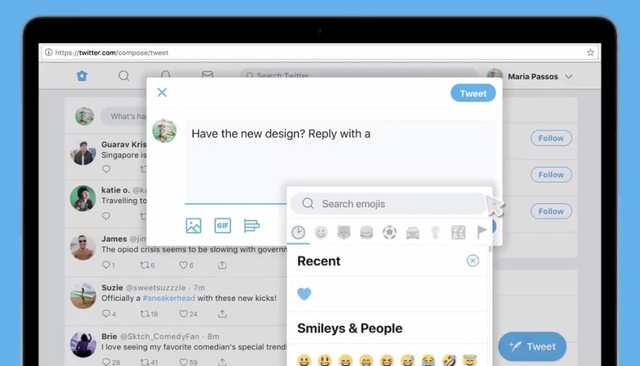 PC版Twitterの新デザインが公開。ずいぶんスッキリしたね!