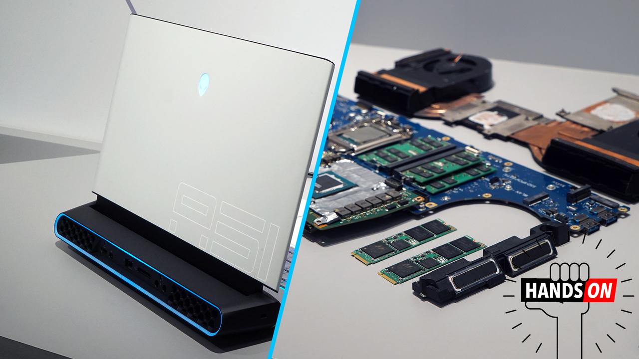 Dellが切り拓く、新たなレジェンド。パーツ交換可能なラップトップ「ALIENWARE AREA-51m」ほかハンズオン