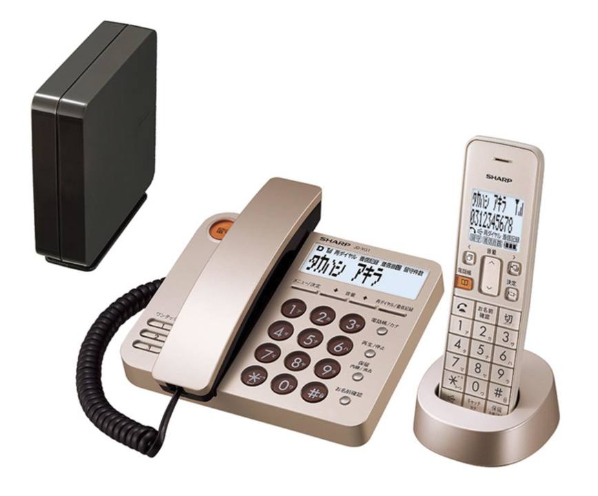 電話線から解き放たれた電話機ならどこでも置ける