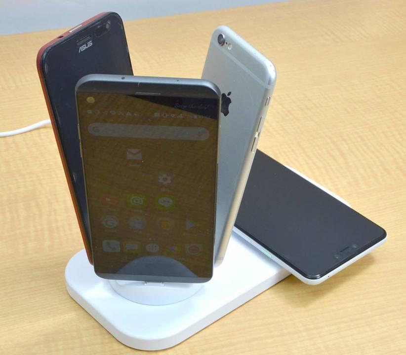 あらゆるスマートフォンが充電できる究極の充電器あらわる