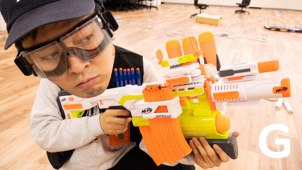 【プレゼントします!】アメリカのおもちゃ銃「Nerf」(開封編)