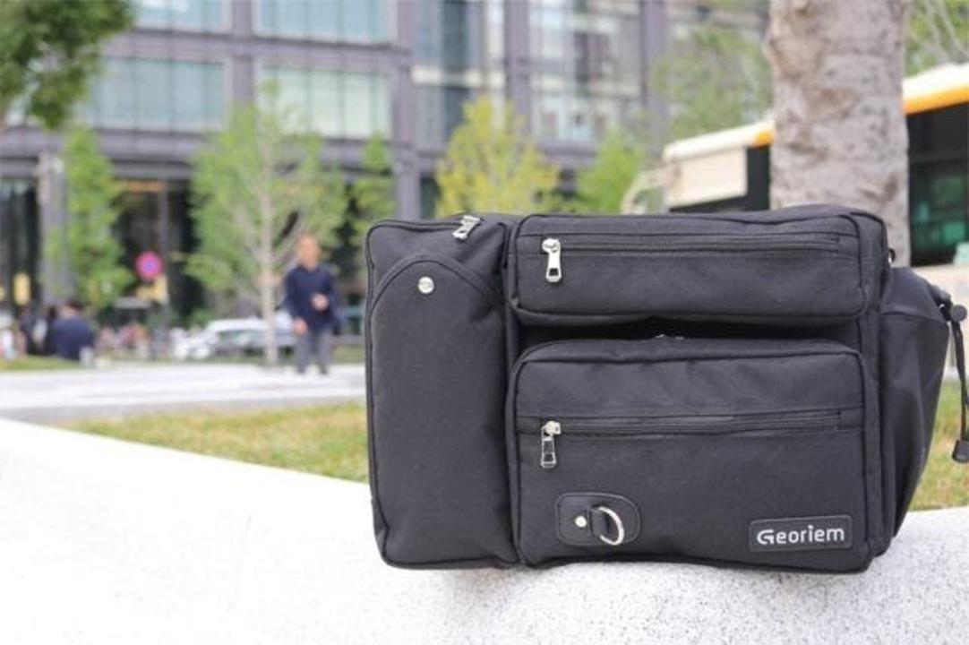 アクティブなビジネスマンに最適、1泊出張にも使えるGeoriem 3WAYボディバッグがキャンペーン開始