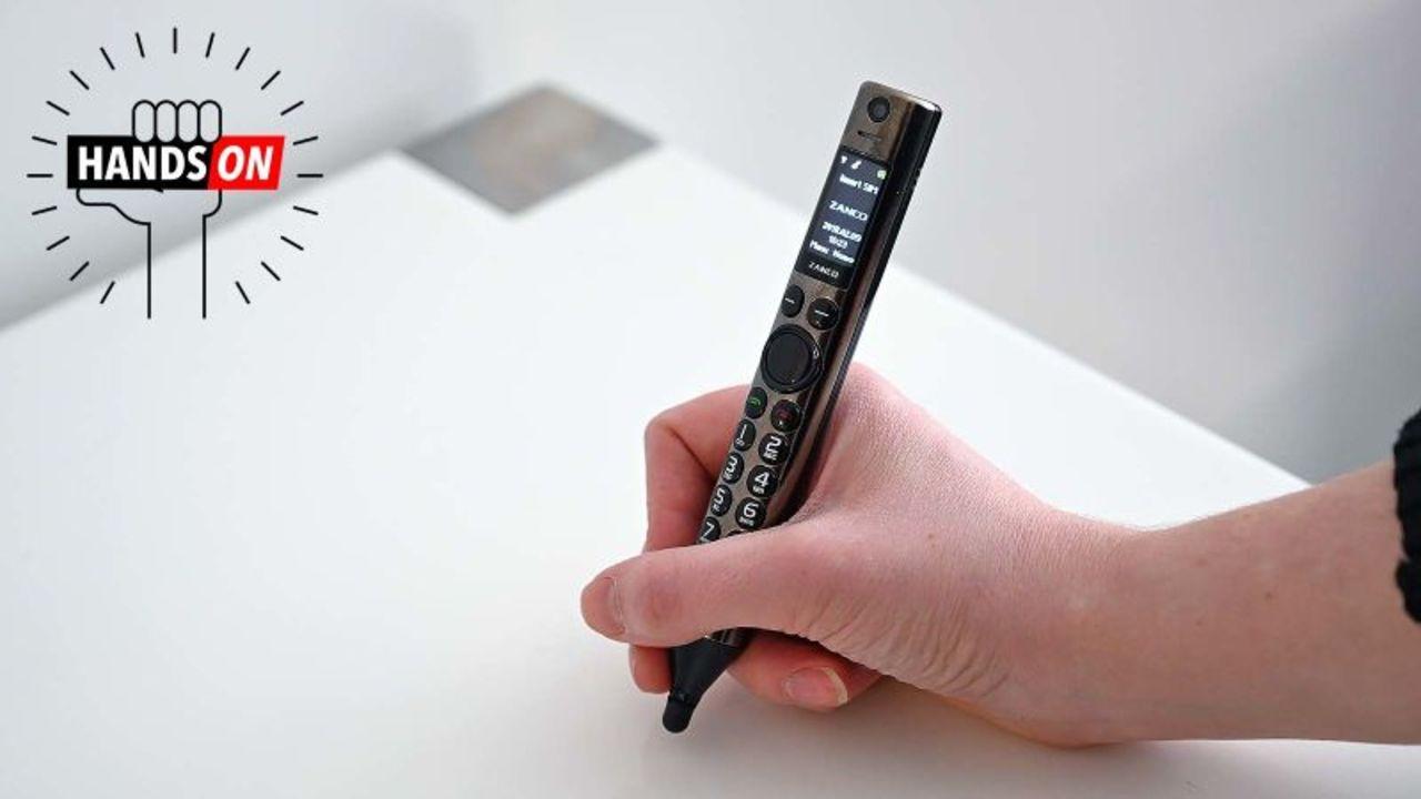 幼心をくすぐるガジェ感:携帯電話「Zanco Smart Pen」ハンズオン