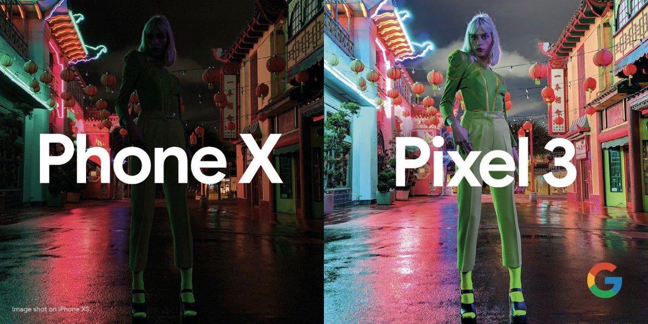 Googleが「iPhone XS」vs「Pixel 3」の暗所撮影の比較写真を公開。iPhoneに追い打ちを仕掛ける!
